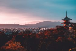 Picture of Japanese skyline