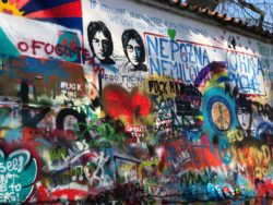 Imagine John Lennon wall
