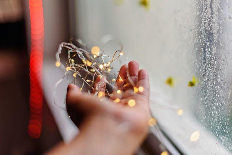 fairy lights hand dostoevsky