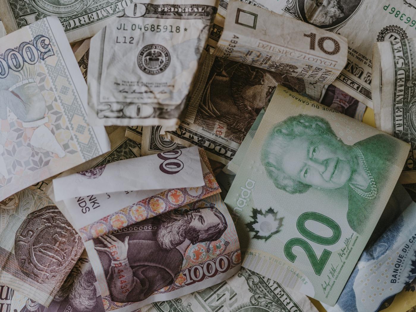 Bank notes / Image: Unsplash