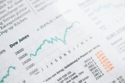 Stock index graph / Image: Unsplash