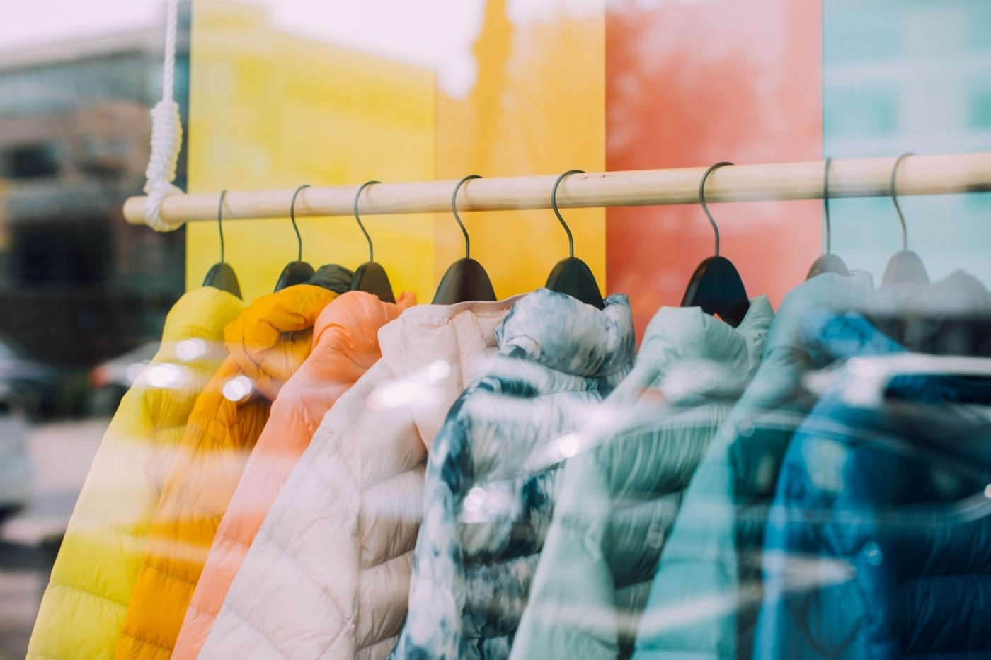 Clothing rack / Image: Unsplash