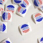 I voted US stickers / Image: Unsplash