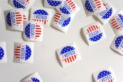 I voted US stickers / Image: Unsplash