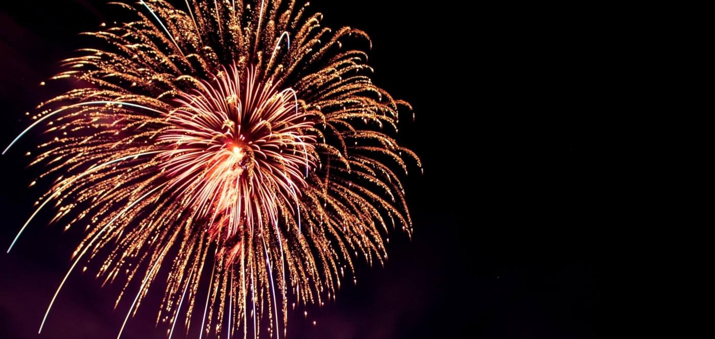 Firework / Image: Unsplash