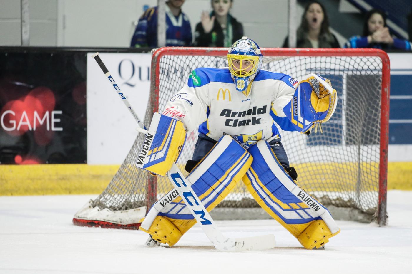 Image: Scott Wiggins - Fife Flyers, Shane Owen